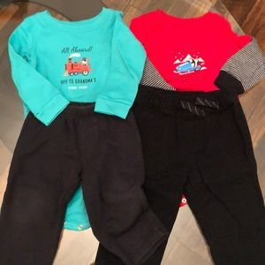 2 Matching Sets Boys 12 Month Bundle